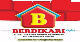 Lowongan Kerja Berdikari Expo Sukabumi