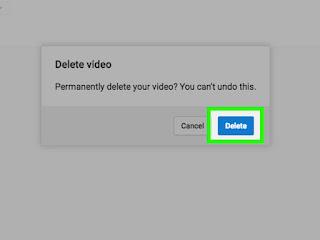 Cara Menghapus Video Di Youtube Lewat HP