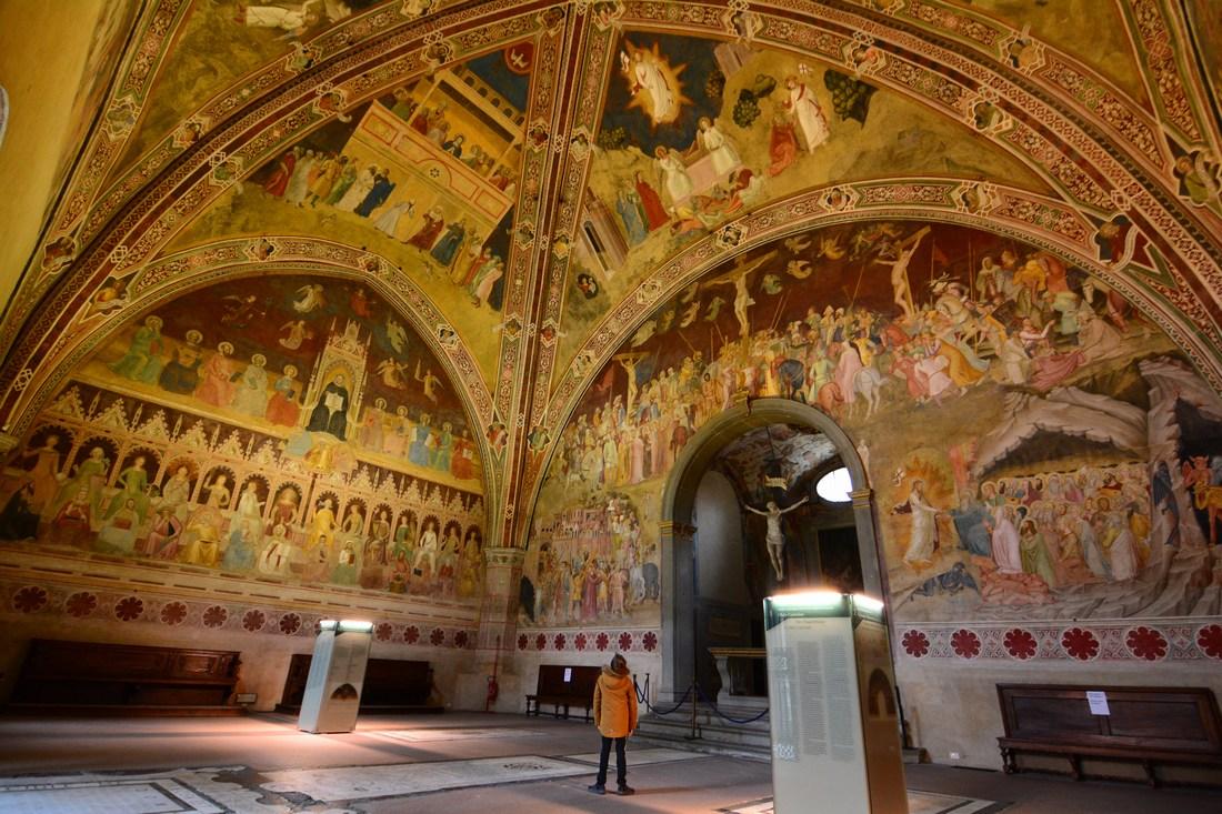 chapelle des Espagnols Santa Maria Novella
