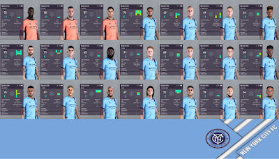PES 2020 New York City Facepack by I3ens