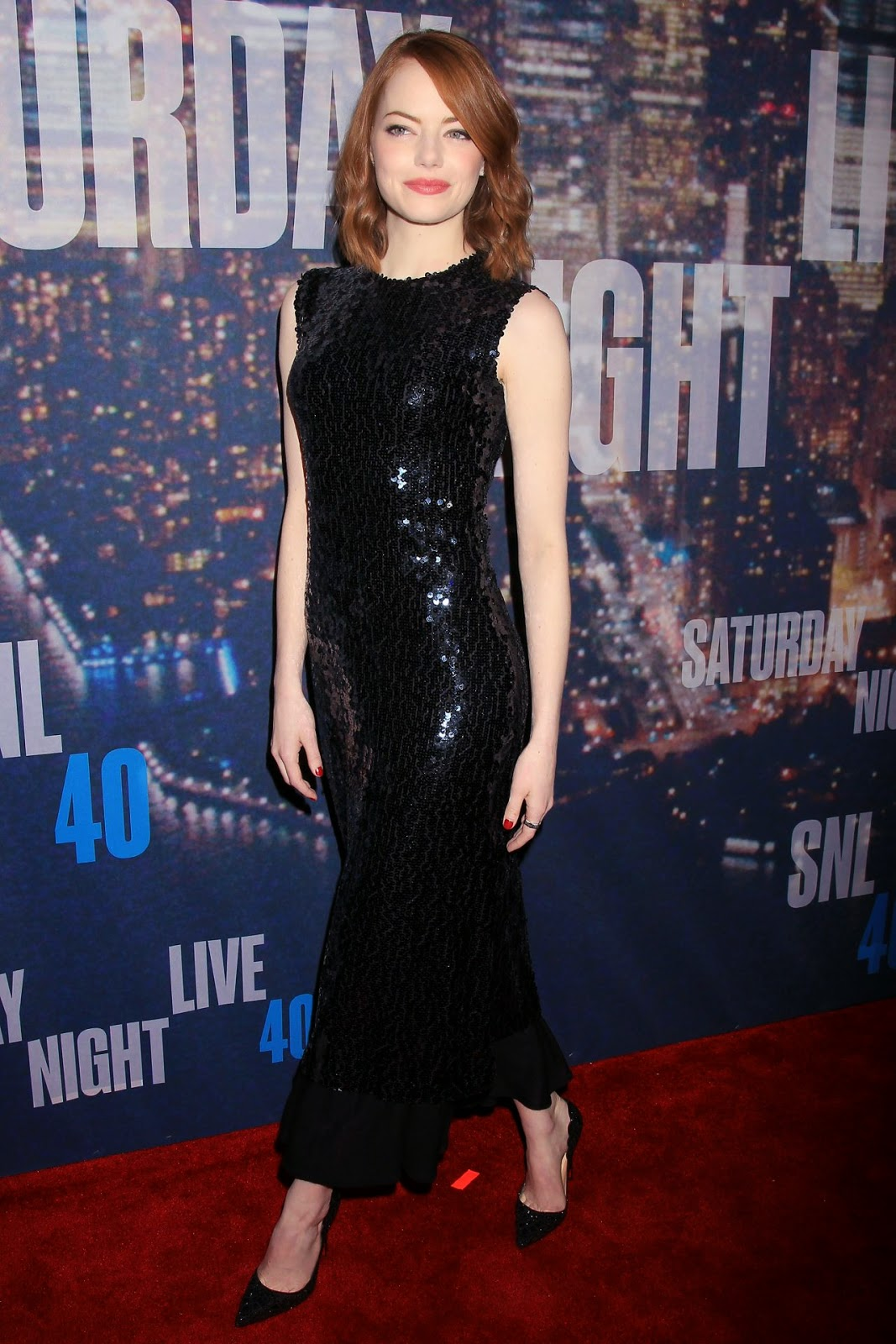 Emma Stone – 2015 SNL Celebration in New York City