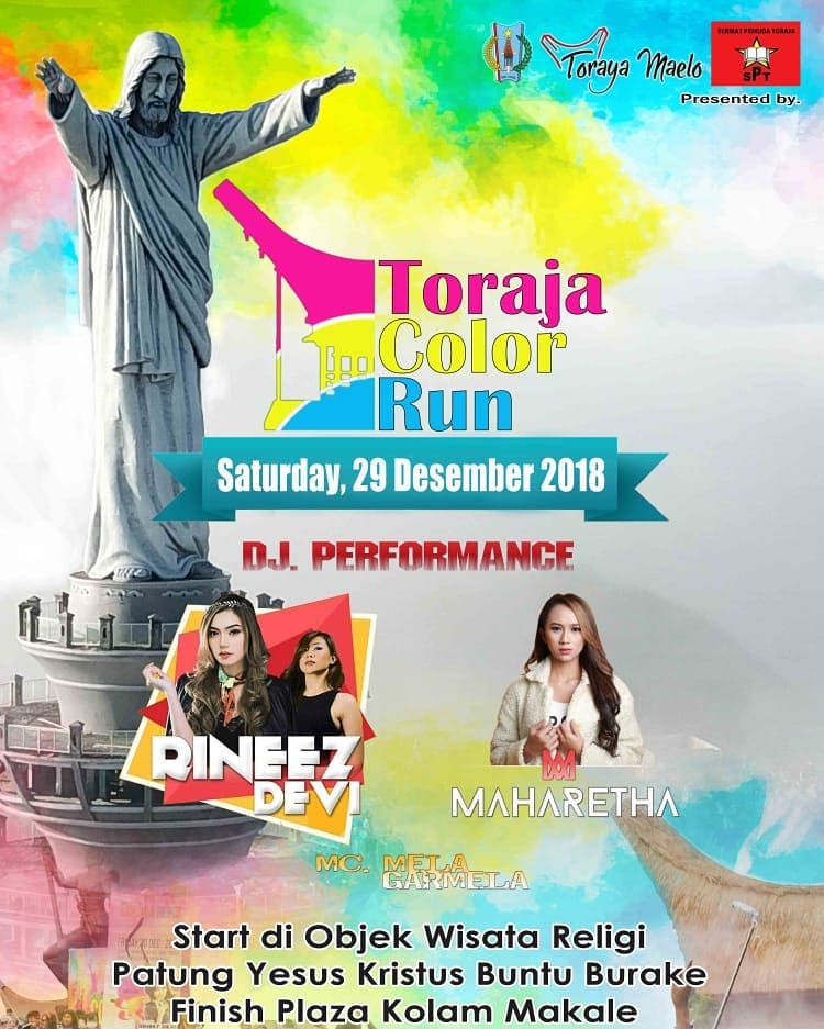 Toraja Color Run • 2018