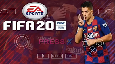 FIFA 2020 PPSSPP Update 2020 Mod PES