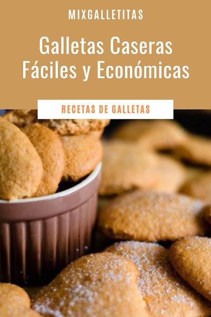 GALLETAS CASERAS FÁCILES Y RÁPIDAS