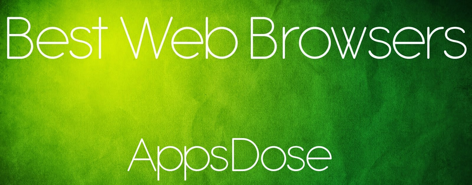 best web browsers for iPhone and iPad