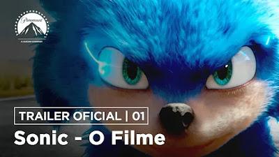 Sonic – O Filme, Trailer Legendado da versão live-action com Jim Carey como vilão