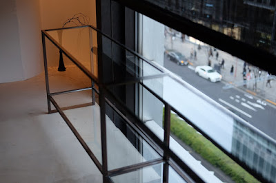 東京の日本茶専門店 櫻井焙茶研究所 ガラス台