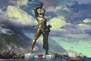 Possible Image of Colossus of Rhodes