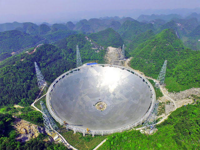 China Completes the World's Biggest Radio Telescope