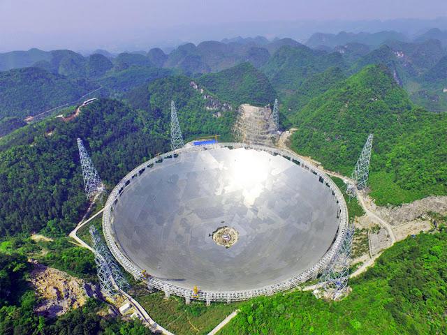 China Completes the World's Biggest Radio Telescope