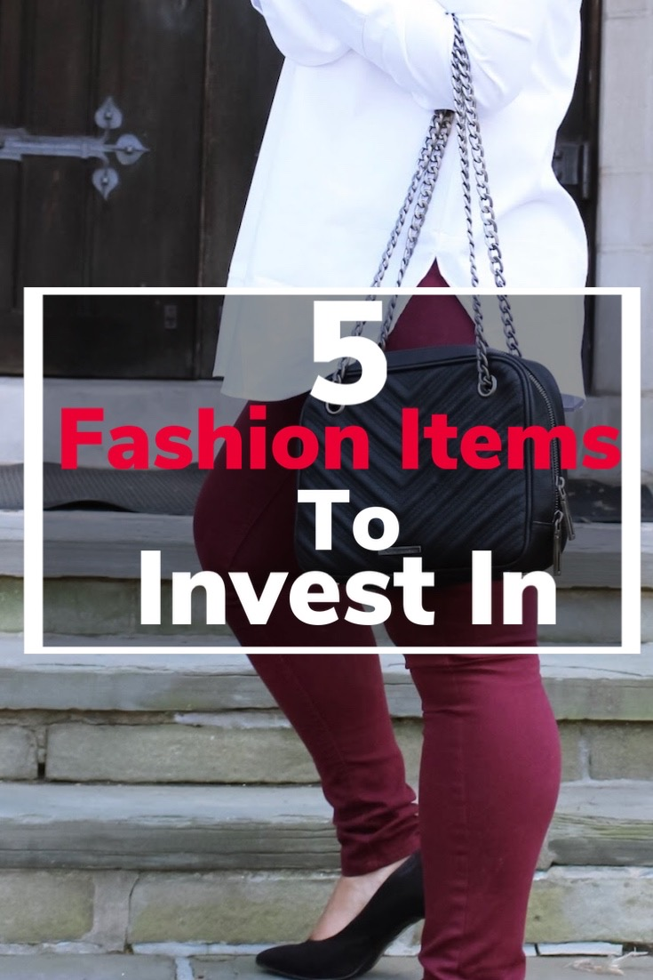 investment pieces, fashion items, classic fashion pieces, pattys kloset