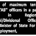 """Maximum tenure of Group """"AB'' officers in a particular post in Regional/Sub-Regional/Divisional Office in ESIC: Minister of State For Labour And Employment"""