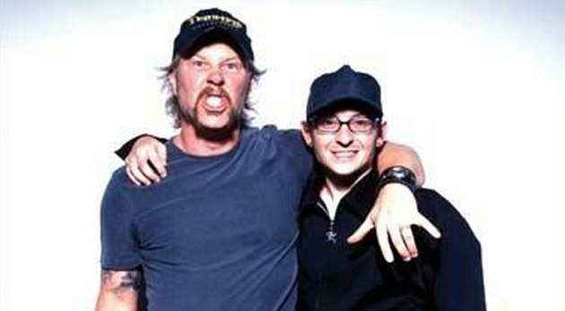 chester bennington_jameshetfield