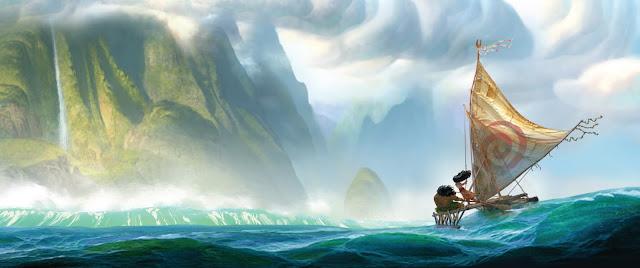 Primer teaser tráiler de 'Vaiana', la nueva película animada de Disney