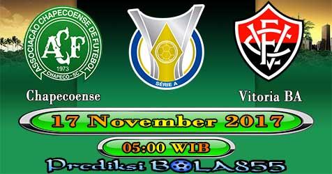 Prediksi Bola855 Chapecoense vs Vitoria BA 17 November 2017