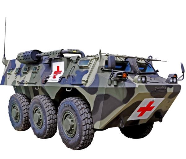 Anoa 6x6 Ambulance