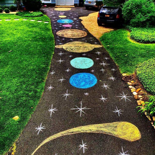 Driveway Solar System