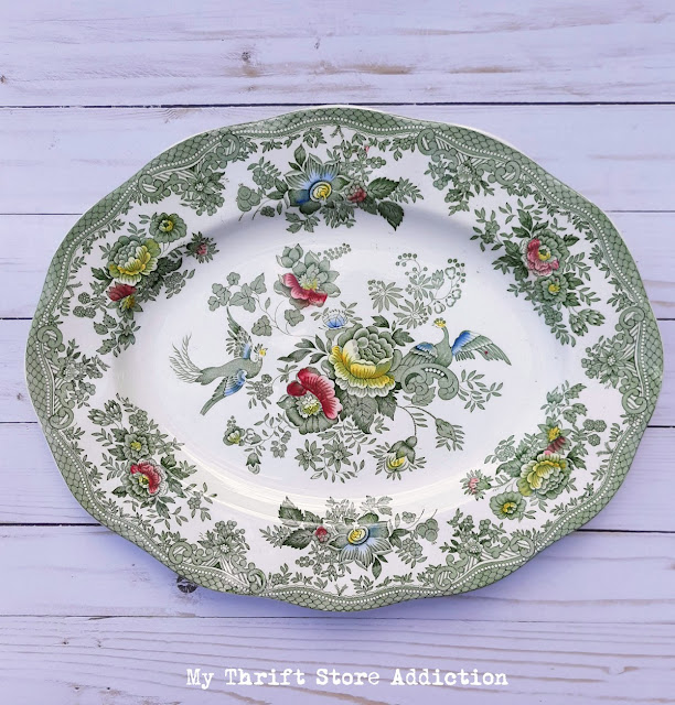 vintage English transferware