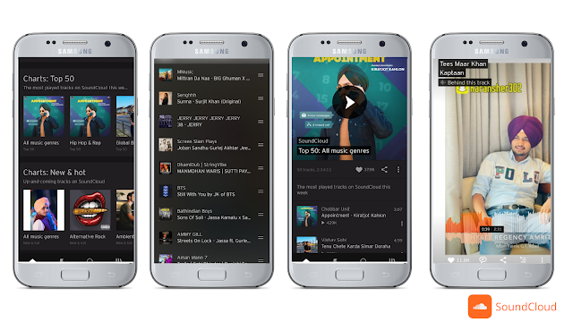 Soundcloud, Best free music streaming app for Android