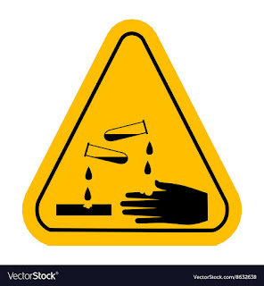 Chemical burn is caused by corrosive substances such as acids and alkalis