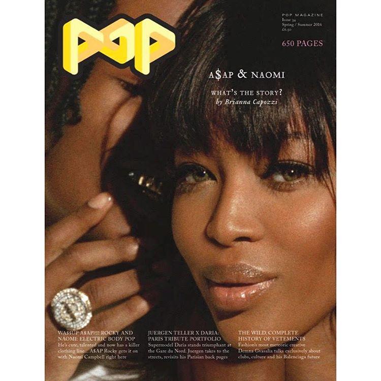 Model Naomi Duo 2 Bing Images: Models Of Color: Pop #34 Spring/Summer 2016: Naomi & A$AP