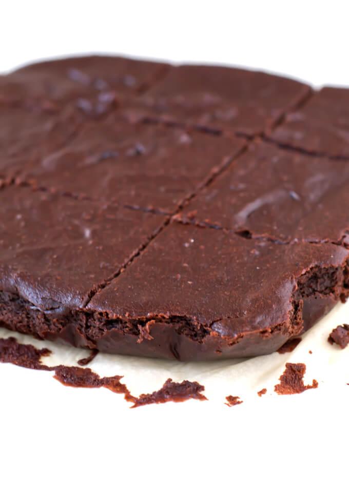 Gluten-Free Vegan Brownie Recipe | danceofstoves.com