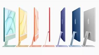 Colorato e ultrasottile: Apple reinventa l'iMac