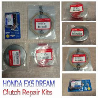 Set clutch untuk motor Honda EX5 dream