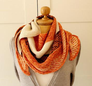Autumn Fades Shawl Knitting Pattern