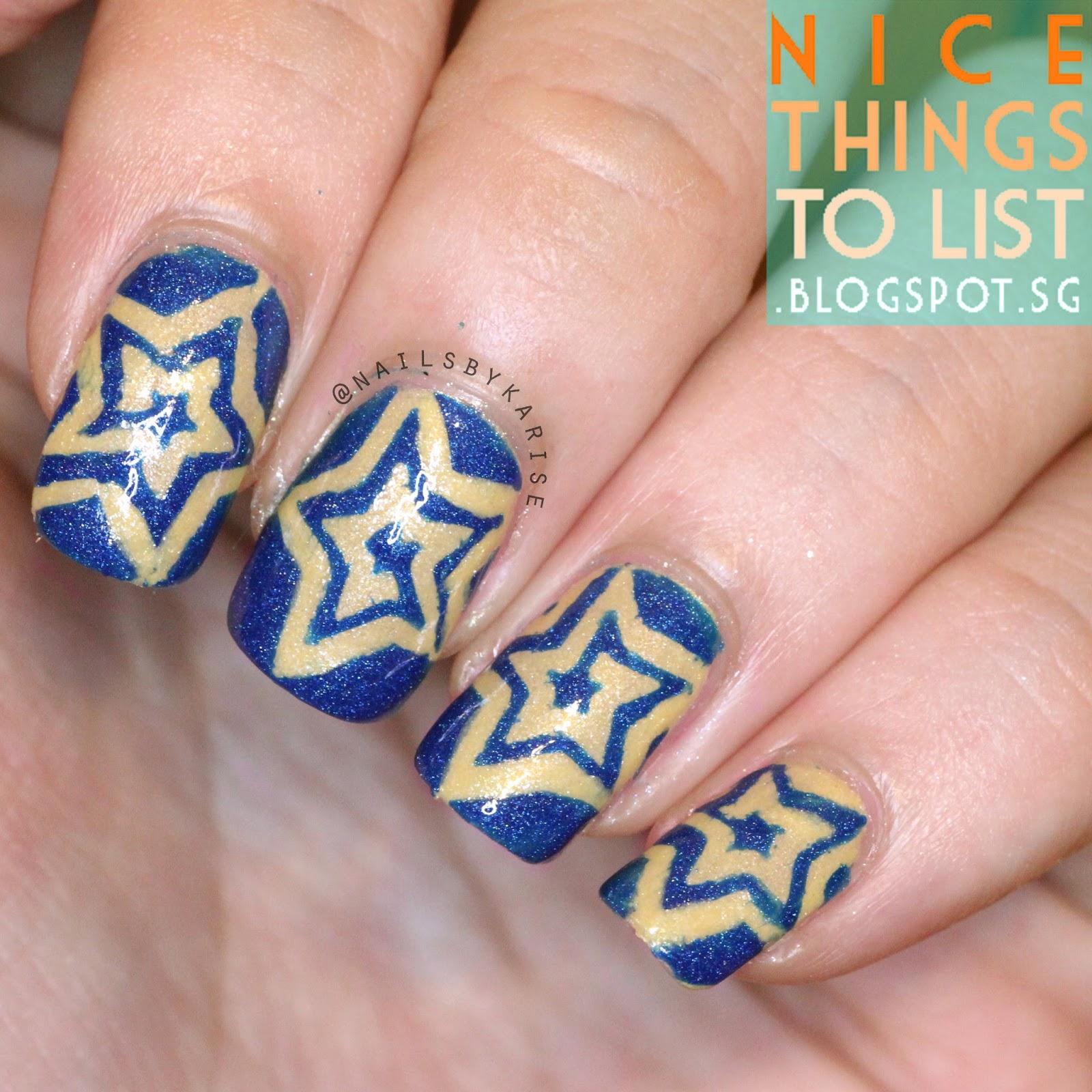 Starlight Nail Vinyls from BornPrettyStore Nail Art - Nice Things To ...