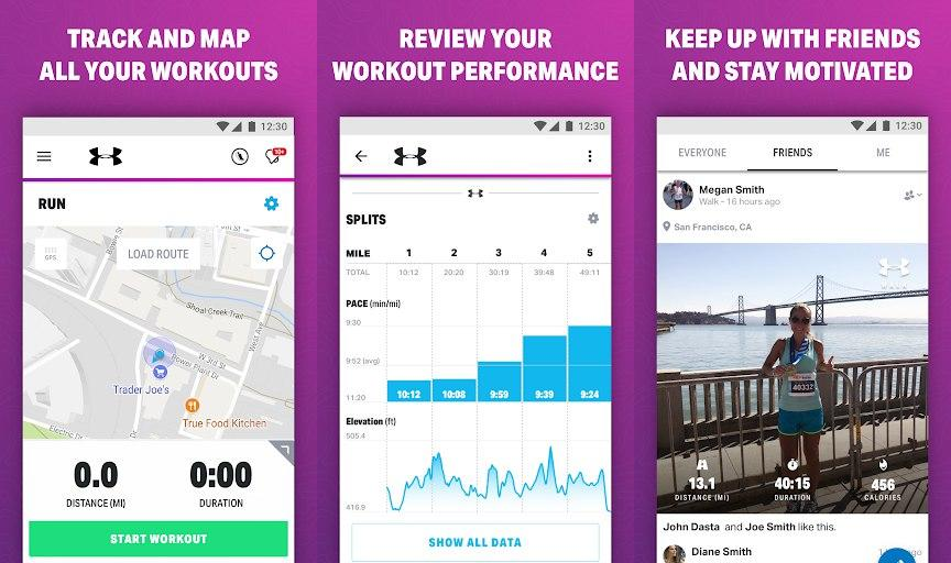 Walk with Map My Walk Mod Apk