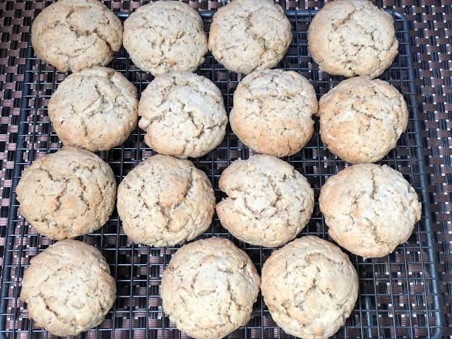 Chez Maximka, easy oat cookies