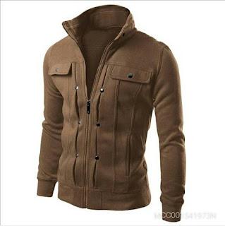 Jacket Male Japanese Retro Contrast Splicing Slim Jacket