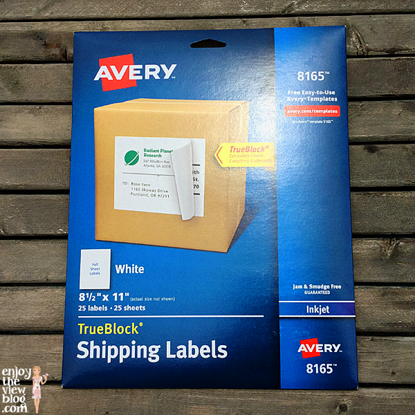 Avery 8165 labels