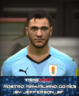 PES 2017 Faces Maximiliano Gomez by FaceEditor Jefferson_SF