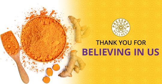 Preserva Wellness Provides the Best Curcumin Ayurvedic Products in India