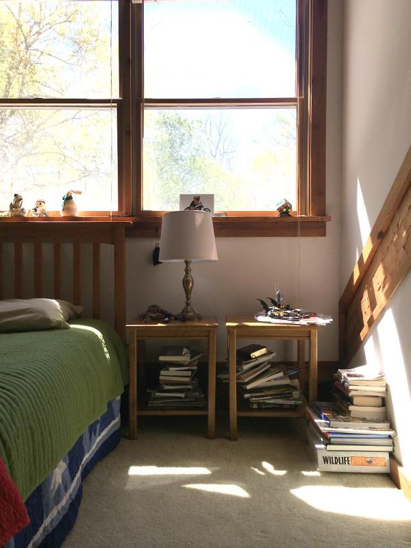 One Room Challenge Spring 2017 | Hood Creek Log Cabin | Boy Room | Before