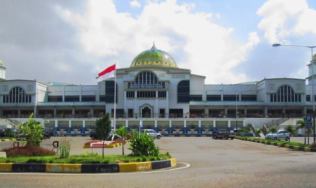 مطار السلطان اسكندر