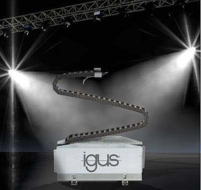 igus presents Zigzag modules from the modular e-chain® system