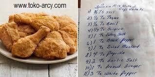 Terbongkar Resep Rahasia KFC