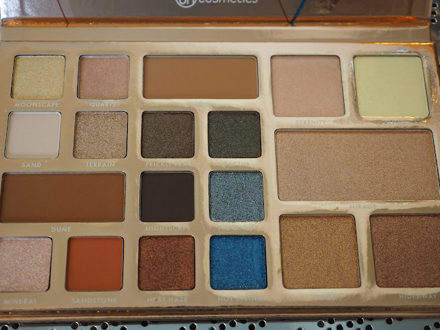 BH Cosmetics Launch Desert Oasis Palette