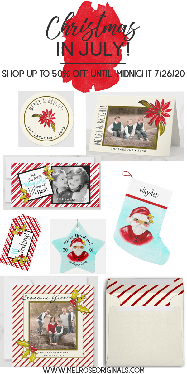 image of assorted christmas cards and mailing accessories