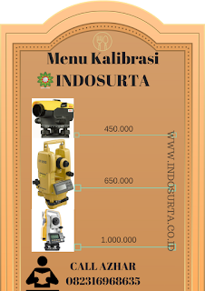 kalibrasi waterpass theodolite