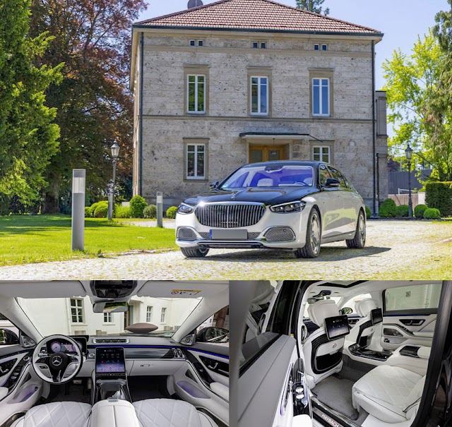 Mercedes-Maybach S-Class S680 2021