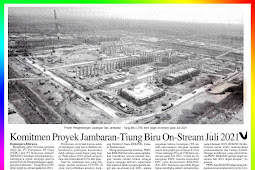Commitment to the Jambaran-Tiung Biru On-Stream Project July 2021