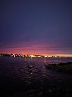 Sunset At Sydney Harbour, Cape Breton Island