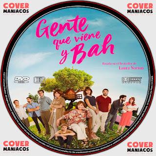GALLETA GENTE QUE VIENE Y BAH 2019[COVER DVD]