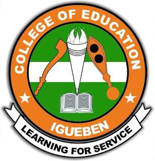 COE Igueben Post-UTME Screening Form 2019/2020