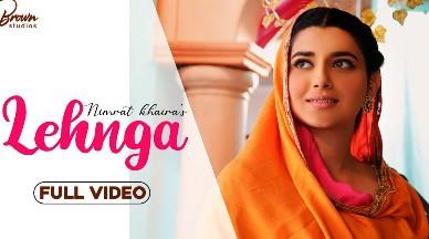 Lehnga By Nimrat Khaira Lyrics in Punjabi & English   Arjan Dhillon   Brown Studios
