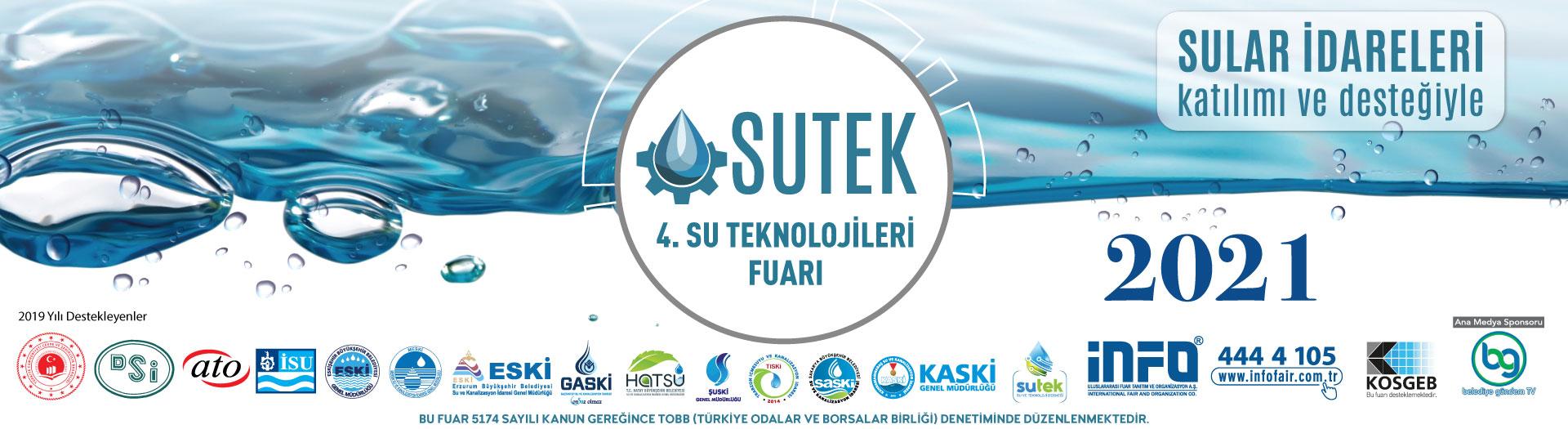 SUTEK 4. Su Teknolojileri Fuarı 2021